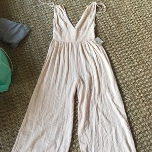 Free People Blush Jumpsuit